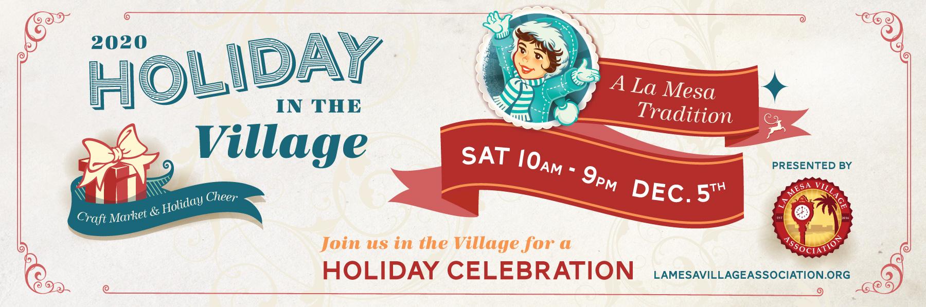 La Mesa Christmas In The Village 2020 Holiday in the Village, A La Mesa Tradition